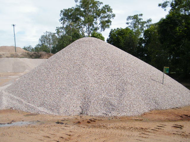 Aggregate Sampling from Stockpile