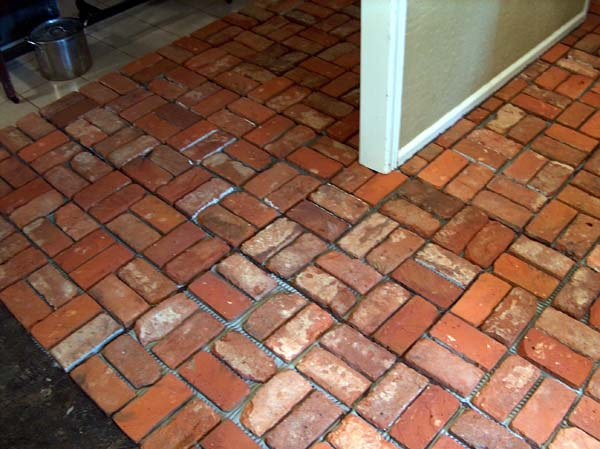 brick tile flooring 10 most common types of flooring used in india civilblog org 28949