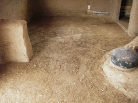 Mud flooring