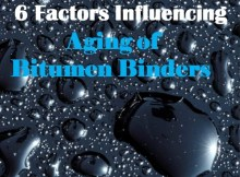 Factors Influencing Aging of Bitumen