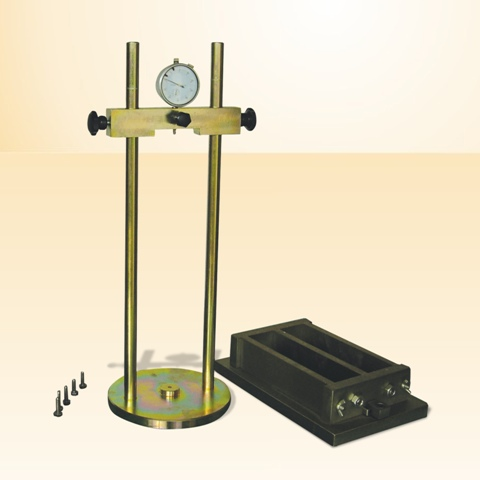 Length Comparator for measuring initial drying shrinkage of concrete specimen