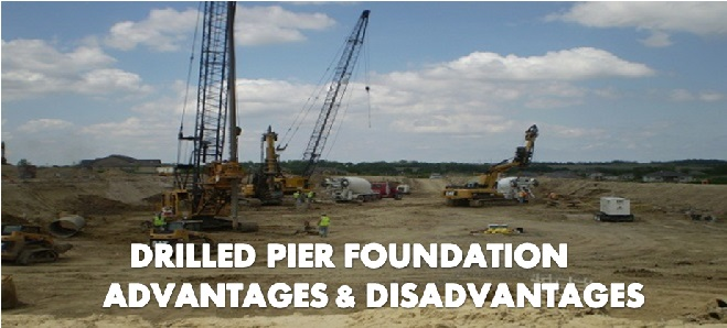 What are the advantages and disadvantages of drilled pier for What is a pier foundation