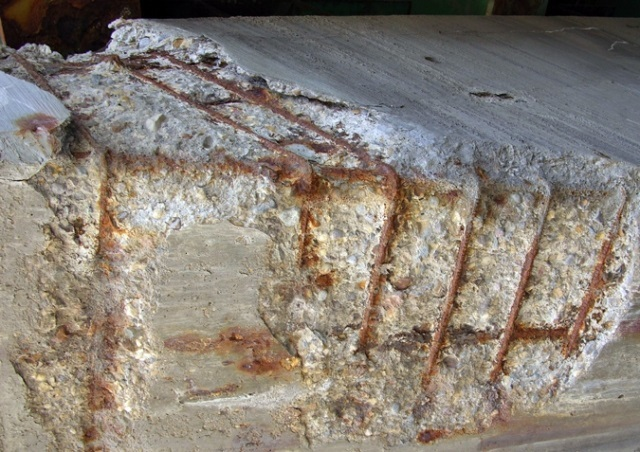 factors influencing corrosion of reinforcement in concrete structure