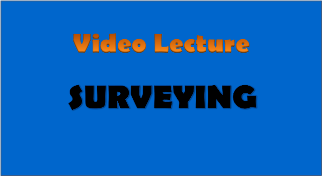 surveying - civil engineering video lectures