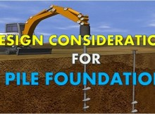 5 things to consider before designing a pile foundation