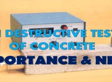 NON DESTRUCTIVE TESTING OF CONCRETE - IMPORTANCE & NEED