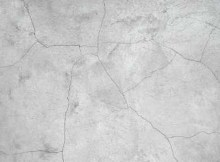 shrinkage cracks in concrete