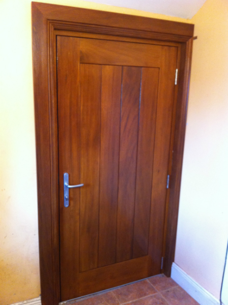 timber door & 11 DIFFERENT TYPES OF DOORS TO CONSIDER FOR YOUR HOUSE - CivilBlog.Org