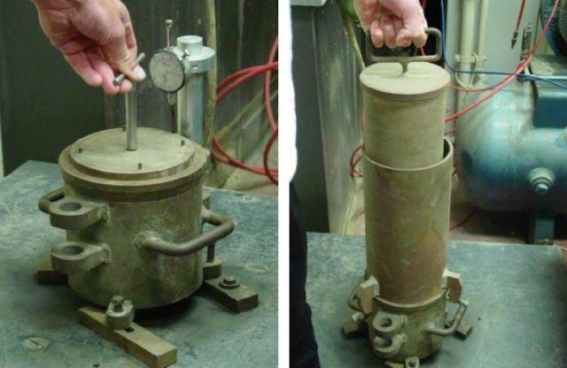 Fig-2 Relative density test of sand