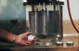 Pic-4 Viscosity test of bitumen