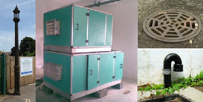 Vents, devices etc. used in methods of ventilation