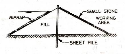 Earth Coffer Dam