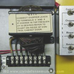 110 Volt Wiring Diagram Emg Mm Hz Civil Defense Museum - The First Siren Project Federal Thunderbolt 1000 Restoration Rcm ...
