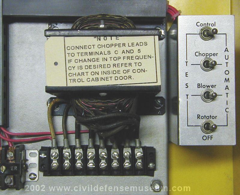 110 volt wiring diagram redline brake controller civil defense museum - the first siren project federal thunderbolt 1000 restoration rcm ...