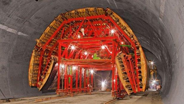 Concrete Formwork for Tunnel
