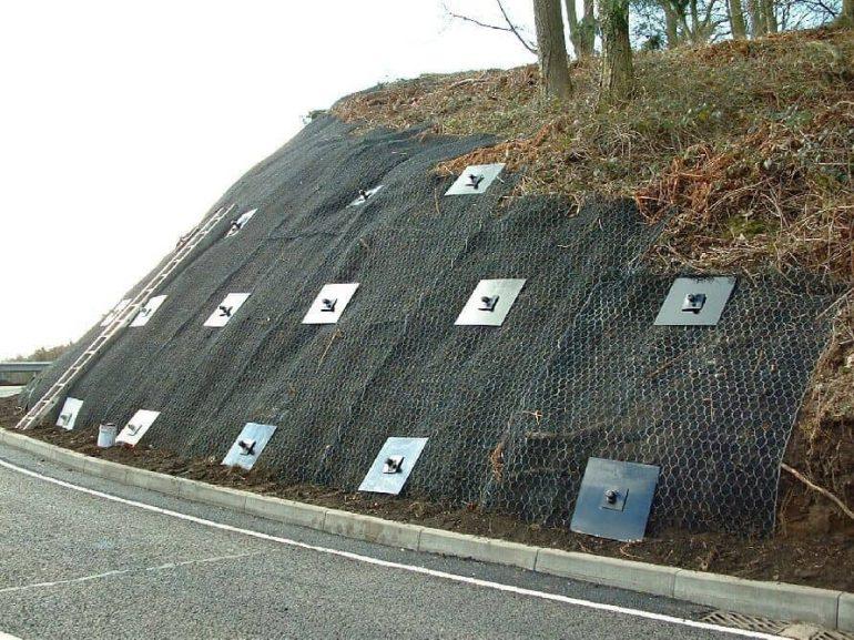 Nail Concrete Wall