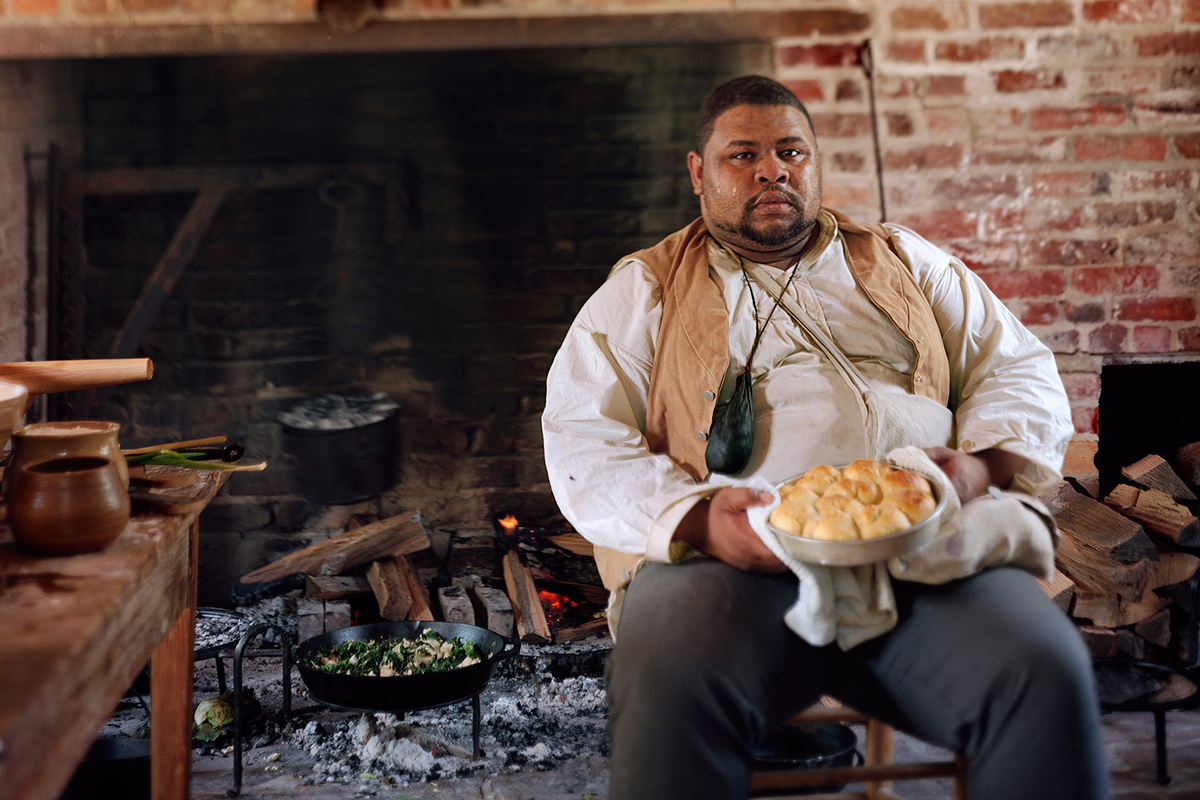 The chef and culinary historian Michael Twitty