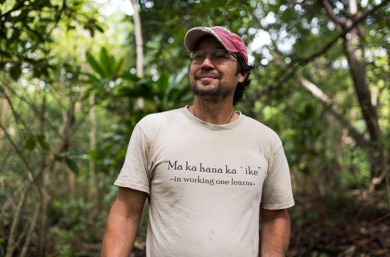 Noa Lincoln. (Photo credit: Hawai'i 'Ulu Cooperative)