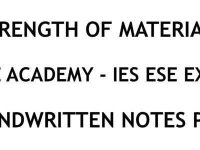 Construction Management IES ESE Exam Ace Academy Notes