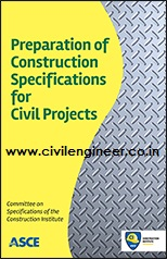 preparation of construction specification of civil projects