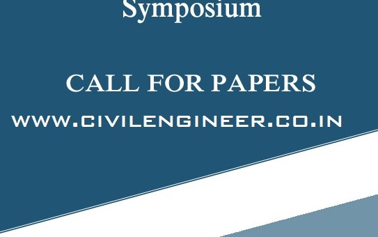 International Civil Engineering Symposium in Vellore Institute of Technology