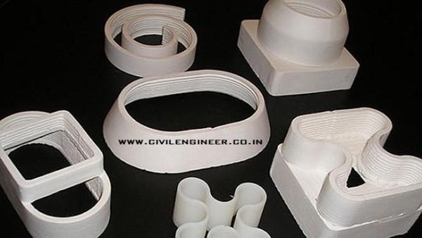 3d construction materials
