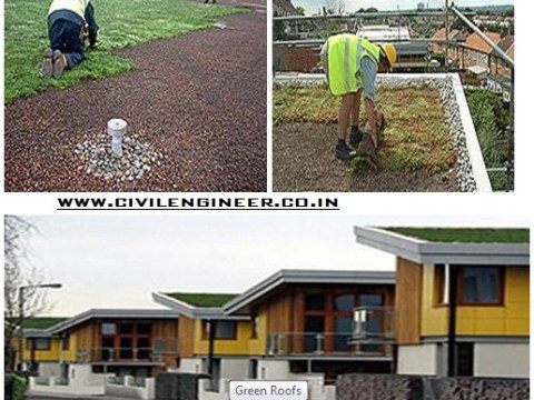 Green roof design construction