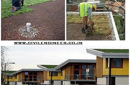 Green roof design construction