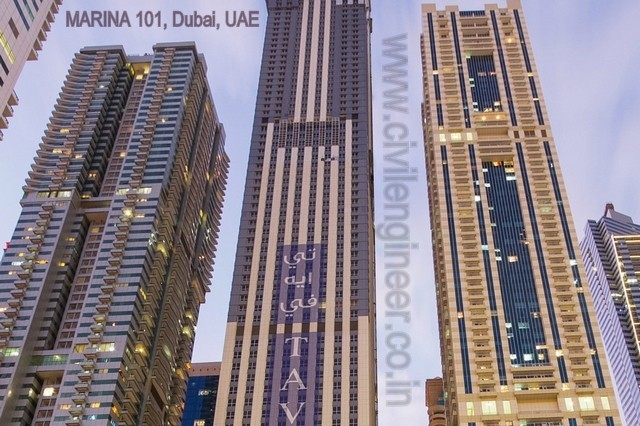 MARINA 101, Dubai, UAE_tower
