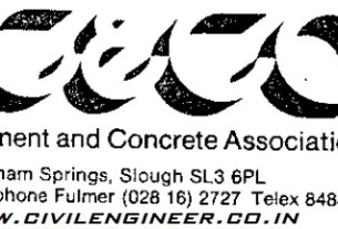 cement and concrete association