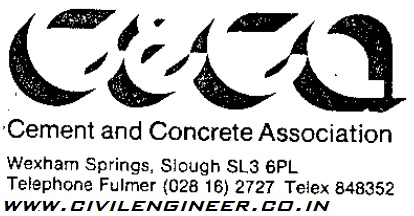 cement and concrete association
