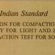 IS-10074-1982 INDIAN STANDARD SPECIFICATION FOR COMPACTION MOULD ASSEMBLY FOR LIGHT AND HEAVY COMPACTIONS TEST FOR SOILS
