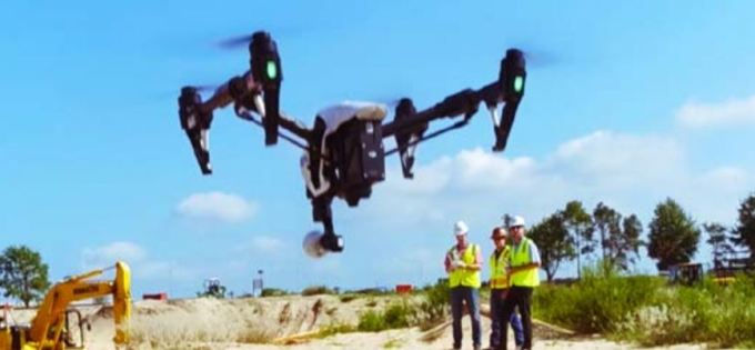 Use of Drone in Construction Industry