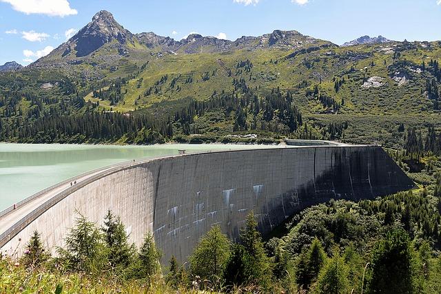 reservoir, dam