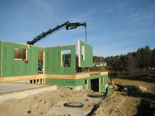 erection of prefabrication components