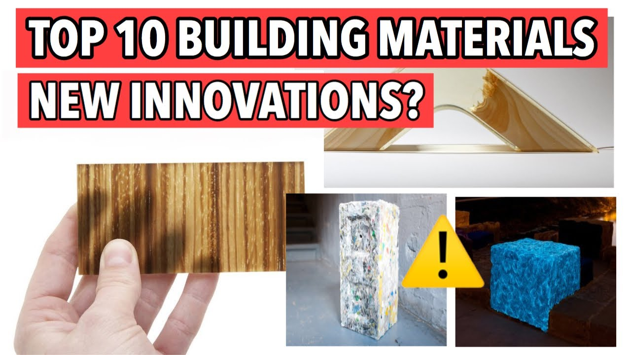 Top 10 new construction materials in civil engineering 2020