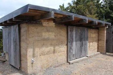 rammed earth as green building materials