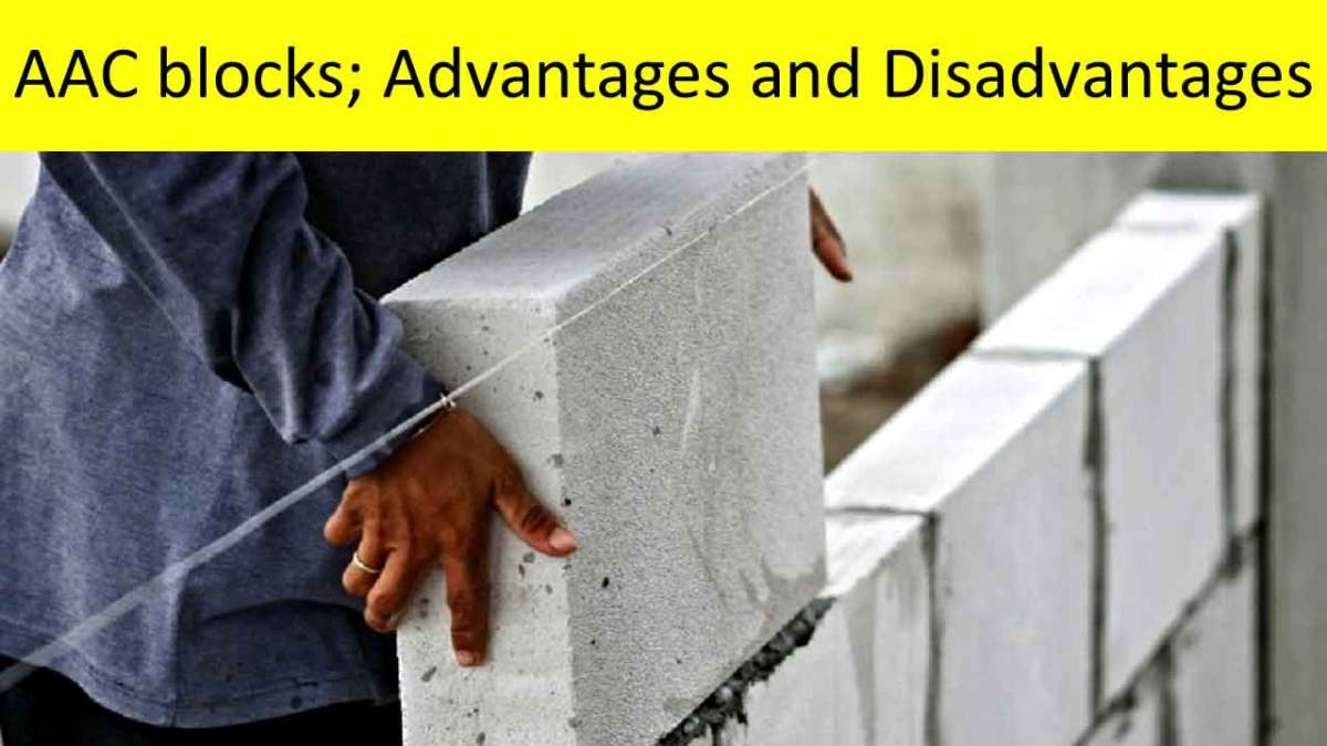 disadvantages of aac blocks
