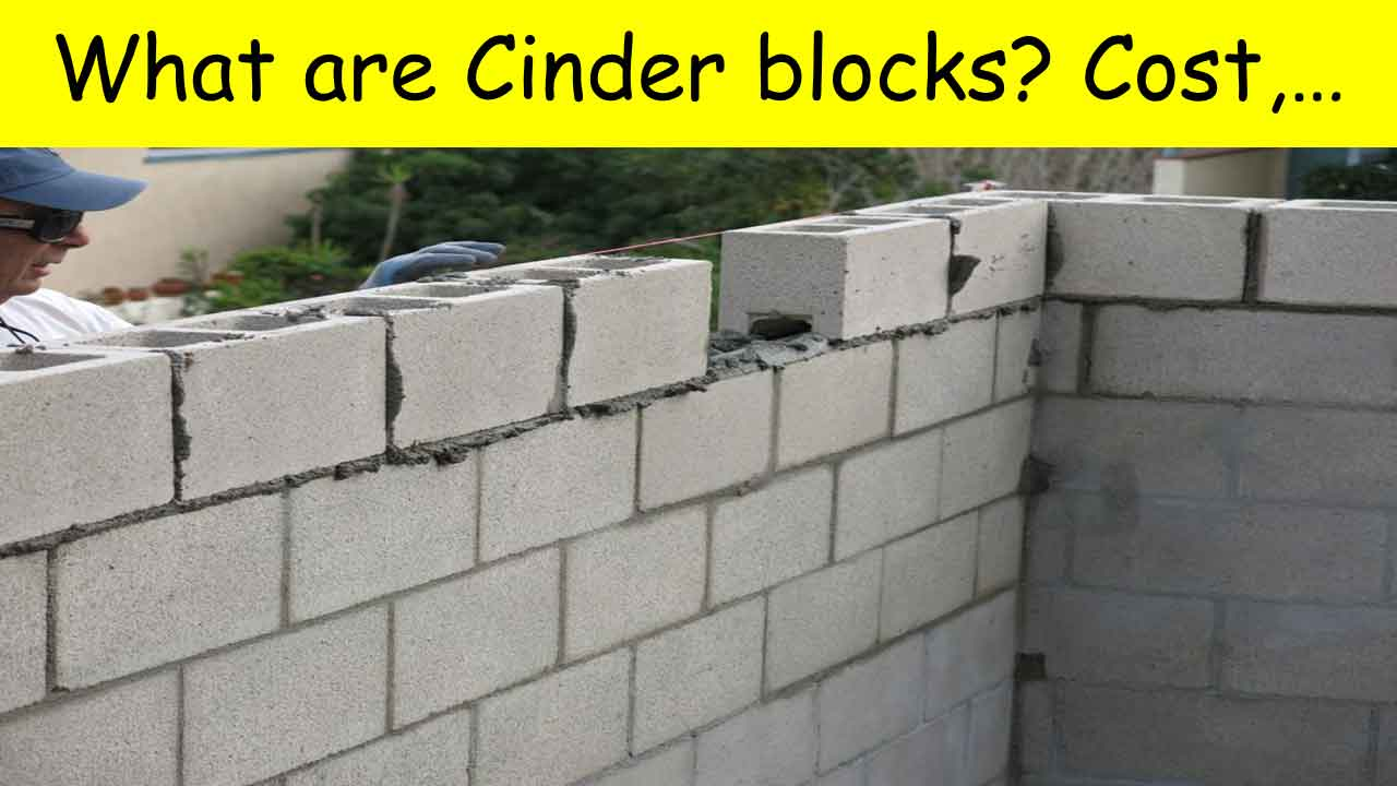 Are cinder blocks still made? Cost, Size and comparison