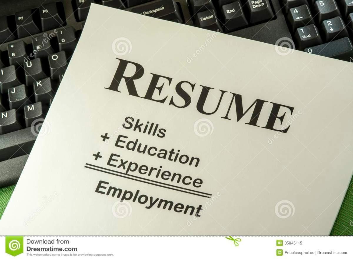 Resume Education Clip Art