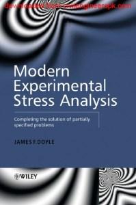 MODERN EXPERIMENTAL STRESS ANALYSIS