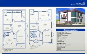 7 Marla House Plan