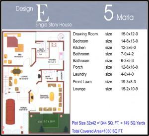 5 marla Design E Final