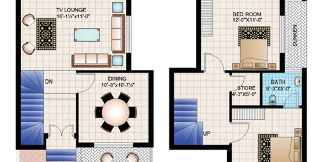 22 Marla house plans Archives - Civil Engineers PK | tile | home design 6 marla