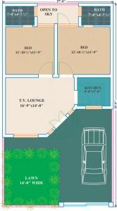 6 Marla House Plans