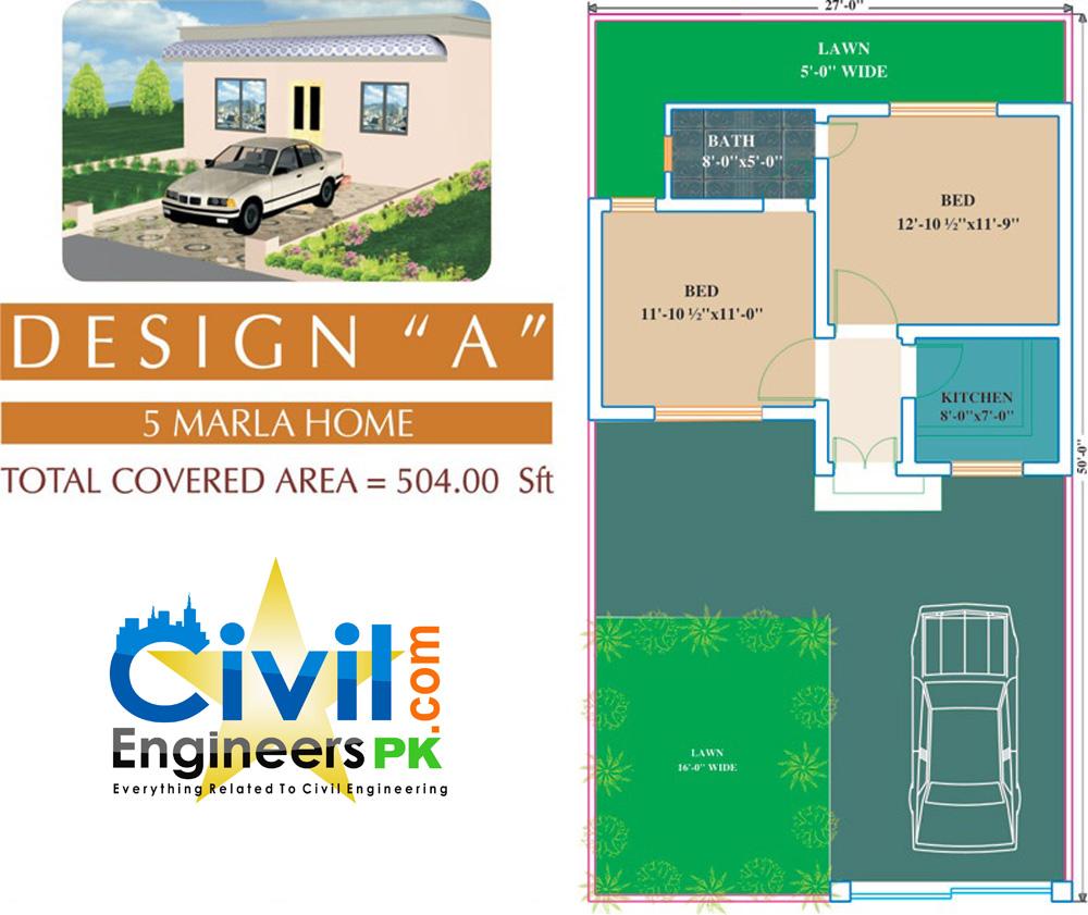 6 Marla House Plans - Civil Engineers PK on map design, 10 marla house design, front room one wall design, simple wood gate design, living room tv design, home design,