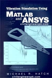vibration simulation using matlab and ansys pdf