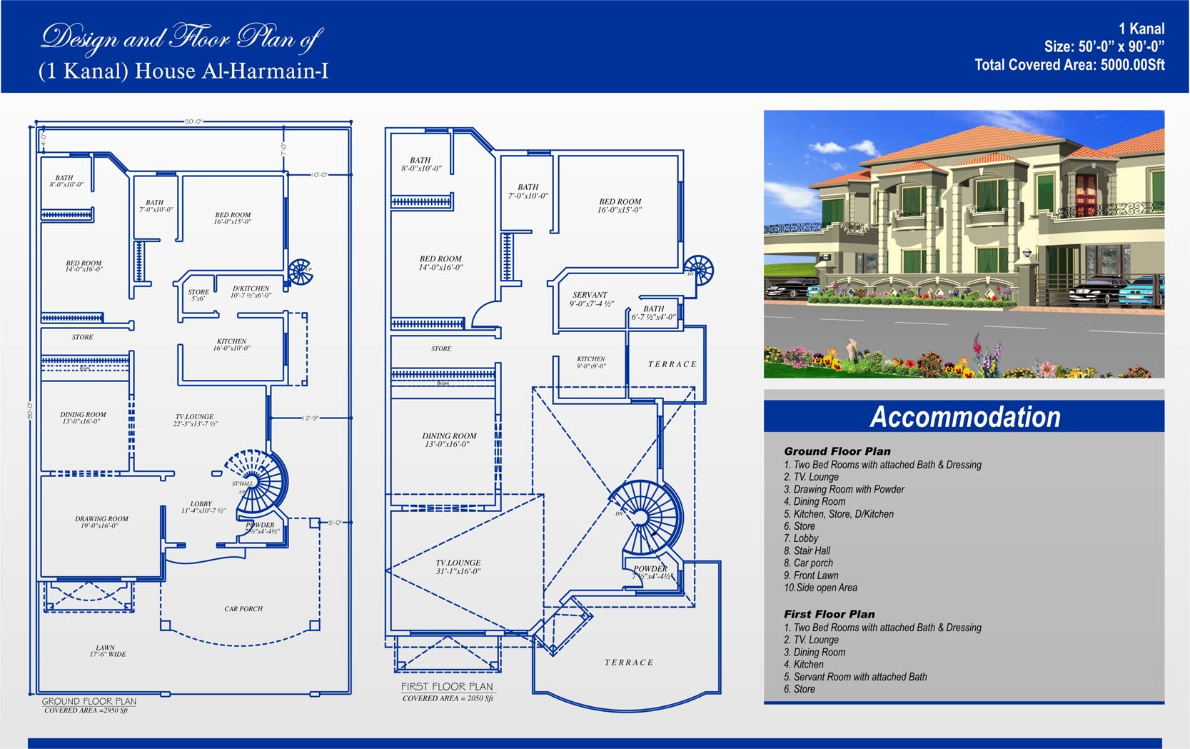 1 kanal house plans civil engineers pk House map online free