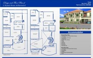 1 Kanal House Plans