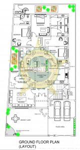 New 1 Kanal House Plan